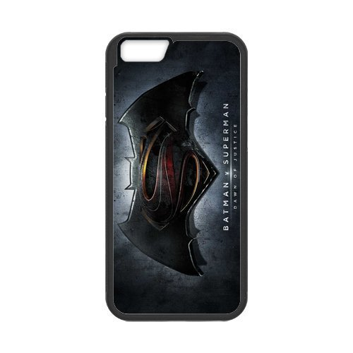 Justice League Batman V Superman Case Cover for iPhone 6(4.7) -DIY personalized- Best Phone Case (Black) 02