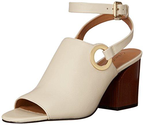 Calvin Klein Women's Adria Dress Sandal, Soft White, 7 M - Adria Shoe