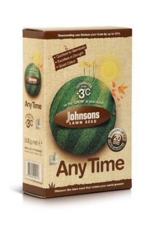 Decco Johnsons 655373 500g Any Time Lawn Seed Decco Ltd