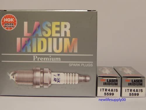8 PCS *NEW* by NGK --- NGK # 5599 Laser Iridium Spark Plug ITR4A15