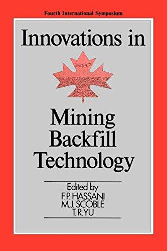 Innovations in Mining Backfill Technology