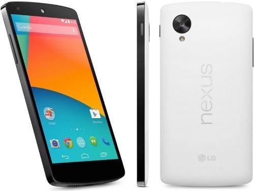 "LG Nexus 5 D820 16GB Unlocked GSM 4G LTE Quad-Core Android Smartphone w/ 5"" True HD IPS+ Multi-Touchscreen -White"