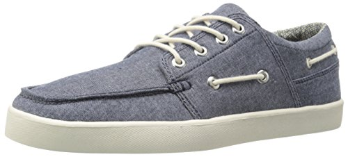 Crevo Mens Covert Fashion Sneaker Navy