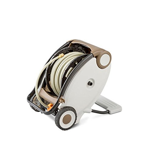 Easy Wind Hose Reel with 130' of 1/2'' PVC Hose