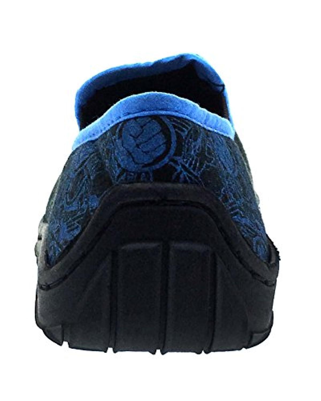 Kids Boys Marvel Avengers Slippers Hulk Iron Man Thor Captain America Mules Slip On Childrens Shoes Size UK 7 - 1