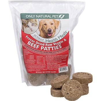 Only Natural Pet Freeze Dried Nibblets Beef Formula Raw Pet Food