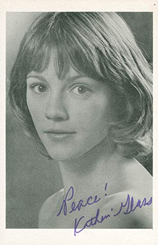 Katherine Glass - Photograph Signed ()