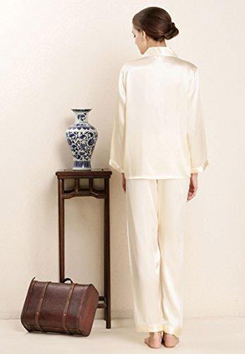 Silk LoveSilk Luxury Yellow Women's Sleepwear PJs Pure Gift Pajamas Light 4q4RwnEP