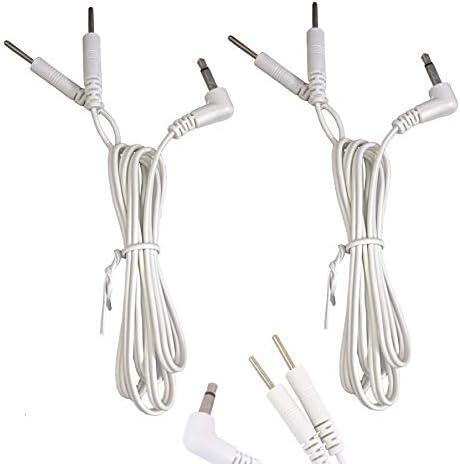 Tens Elektroden 3.5mm Stecker Anschlussleitung mit Männliche Verbindung