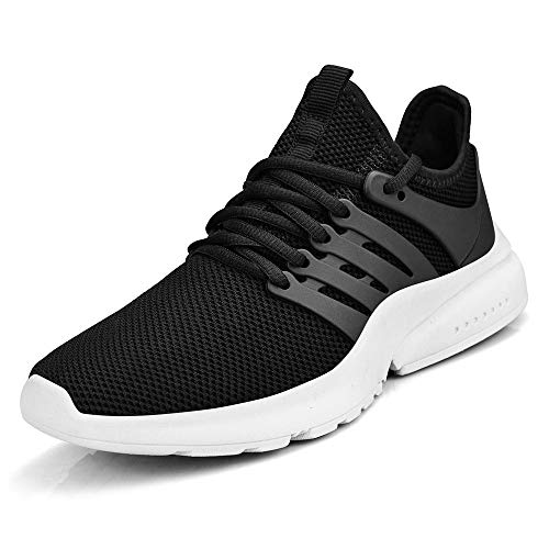 - MARSVOVO Women Sneakers Casual Tennis Gym Running Breathable Sport Shoes Black White