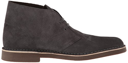 CLARKS Herren-Stiefel Bushacre 2 Chukka, rot, Größe: 40 Greystone Suede