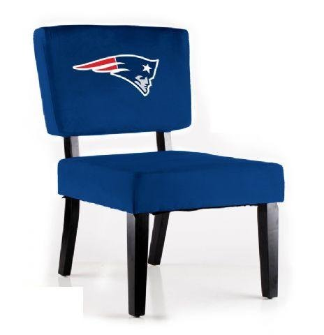 NFL Side Chair NFL Team: New England Patriots by Imperial