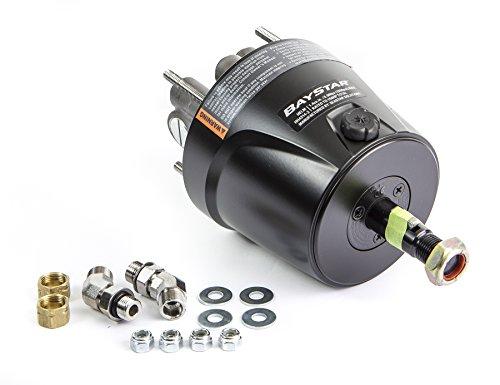 BayStar Front Mount 1.4 Standard Marine Hydraulic Steering Helm HH4314-3 (Baystar Hydraulic Steering)