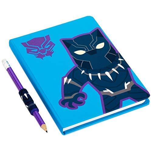 HMK Hallmark Marvel Avengers Black Panther Journal & Pencil with Grip
