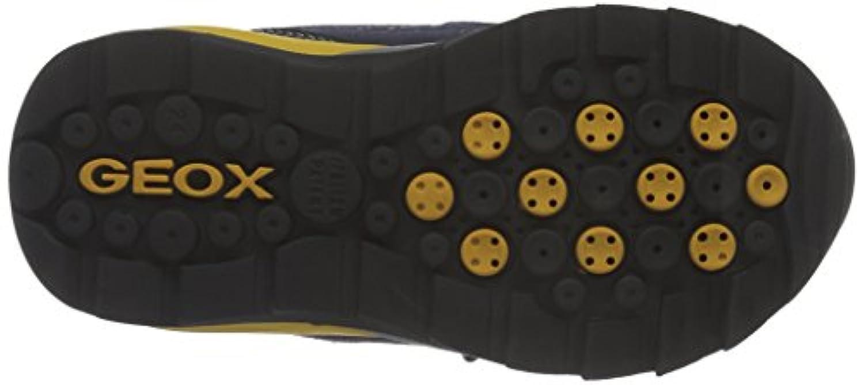 Geox J ORIZONT BOY ABX A, Boys' High Sneakers, Blue (NAVY/YELLOWC0657), 7 Child UK (24 EU)