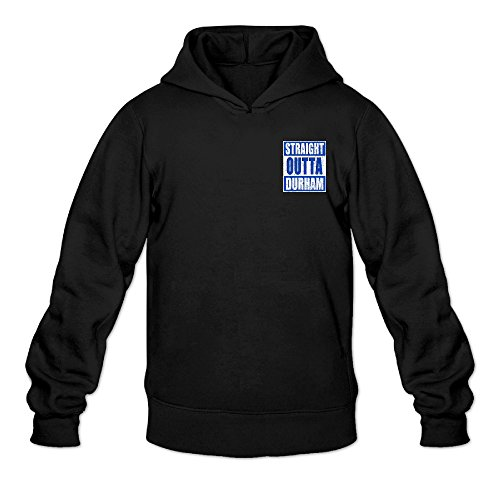 Duke Blue Devils Fans Classic Men's Hooded Sweatshirts Black ()