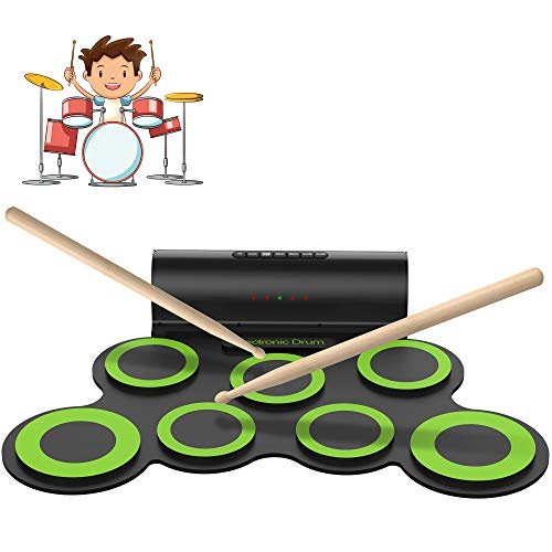 ORASANT Electric Drum Set, Roll Up Electronic Drum
