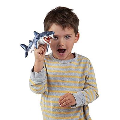 Folkmanis Mini Shark Finger Puppet: Toys & Games
