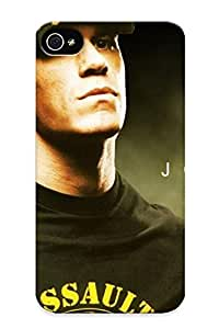 Eatcooment Design High Quality John Cena Cover Case With Ellent Style For Iphone 4/4s(nice Gift For Christmas) by lolosakes