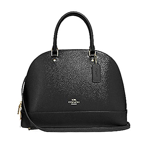 Coach Sierra Satchel Patent Crossgrain Leather