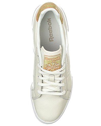 Reebok Npc Ii Ne Transform, Zapatillas De Tenis para Mujer Blanco / Beige (Chalk/Desert Stone/White)