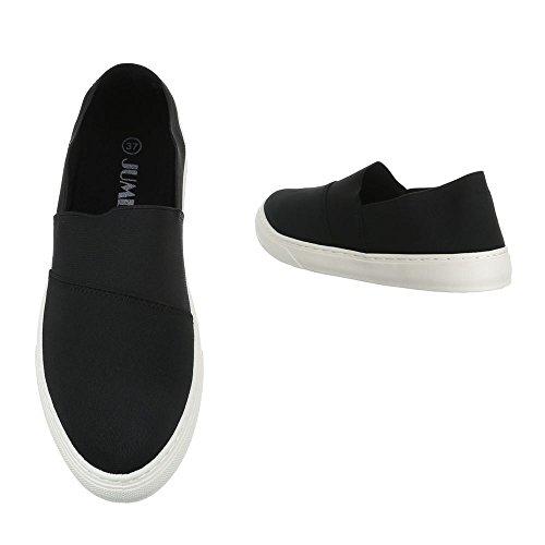 Ital-Design Women's Slippers Black Rv8qtmL