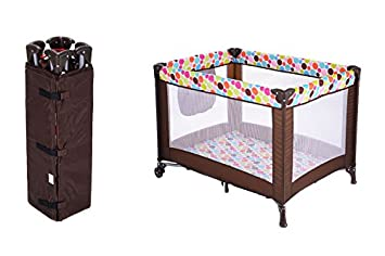 832fc85f1 Amazon.com   Baby Foldable Playpen Toddler Playard Portable Bed ...