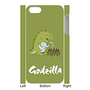 Custom Your Own Unique Godzilla iPhone 5 Cover Snap on Godzilla iPhone 5 5S Case