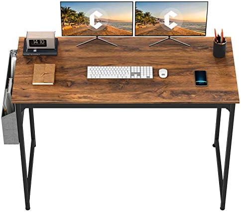CubiCubi Study Computer Desk 63″ Home Office Writing Small Desk