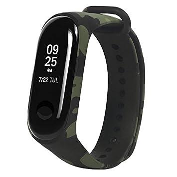 Alftek Correa de Reloj Deportivo para Xiaomi Band 3 Accesorios de reemplazo de Camuflaje Strap Bracelet: Amazon.es: Electrónica