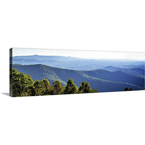 Furniture Blue Ridge (Alan Hausenflock Premium Thick-Wrap Canvas Wall Art Print entitled Blue Ridge Mountains II 36