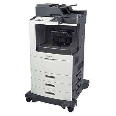 Lexmark MX812DTFE Laser Multifunction Printer - Monochrome - Plain Paper Print - Desktop - Copier/Fax/Printer/Scanner - 70 ppm Mono Print - 1200 x 1200 dpi Print - 70 cpm Mono Copy - Touchscreen - 600 dpi Optical Scan - Automatic Duplex Print - 1750 sheet