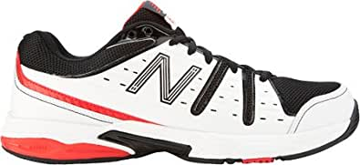 New Balance Men's MC656,White/Black,US 17 D
