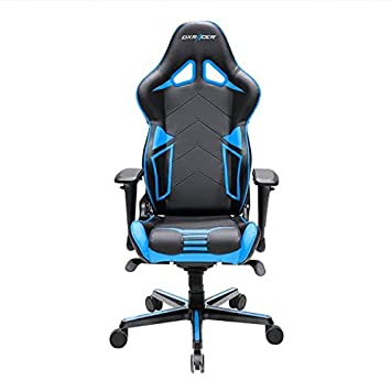 DXRacer Gaming Silla, oh/rv131/NB, R de Serie, Color Negro y Azul: Amazon.es: Hogar