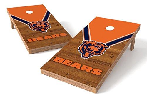 PROLINE NFL 2'x4' Cornhole Board Set - Uniform Design, Chicago Bears