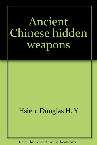 Ancient Chinese hidden weapons