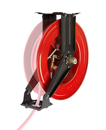 TEKTON 50-Foot by 3/8-Inch I.D. Dual Arm Auto Rewind Air Hose Reel (250 PSI) | 46875 by TEKTON (Image #10)