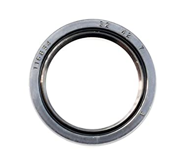 Metal Case w//Nitrile Rubber Coating EAI Oil Seal 32mm X 50mm X 8mm TC Double Lip w//Spring