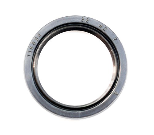 Oil Seal and Grease Seal TC 32X42X7 Rubber Double Lip with Spring 32mmX42mmX7mm by EAI Parts
