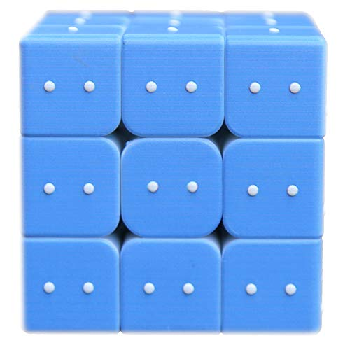 - XHMQBER Pocket Braille Cube, Braille Learning Tool Learning Device Hand able Size,Braille Toys