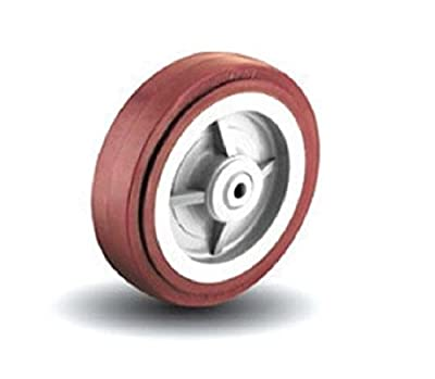 "Colson 3"" x 1-1/2"" Polyurethane Wheel with 3/4"" Roller Bearing Spans to 1/2"""