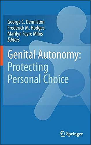 Genital Autonomy: Protecting Personal Choice