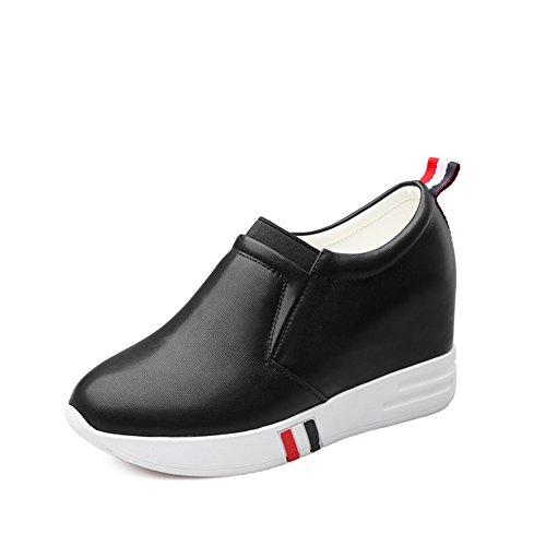 Zapatos altos de plataforma/Moda zapato del alto talón pie boca profunda A
