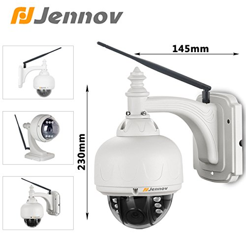 Jennov 2 0mp Hd 1080p Outdoor Ptz Wireless Wifi Security
