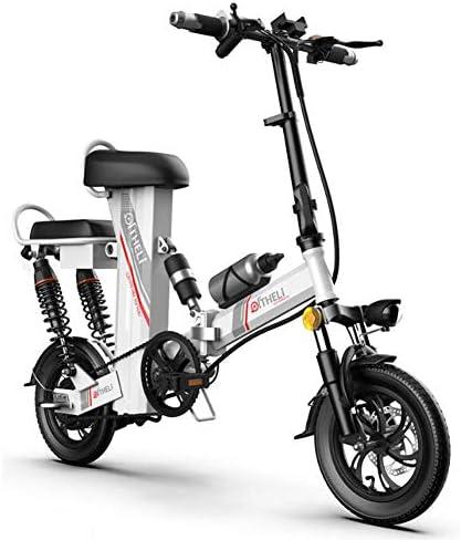 SFXYJ Bicicleta Eléctrica Plegable para Dos Personas con Batería ...