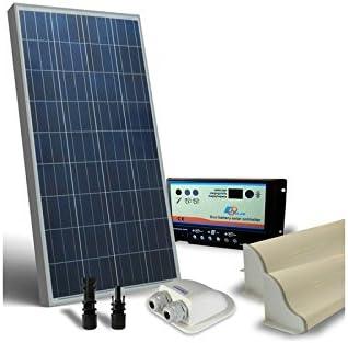 Kit Solar Camper 100W 12V Base Panel fotovoltaico: Amazon.es ...