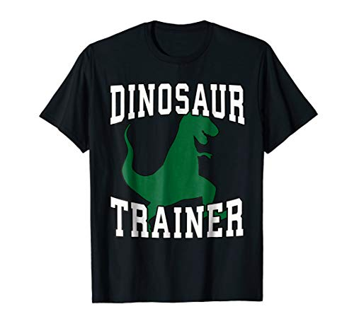 Dinosaur Trainer Halloween T-Shirt, Costume for Adults