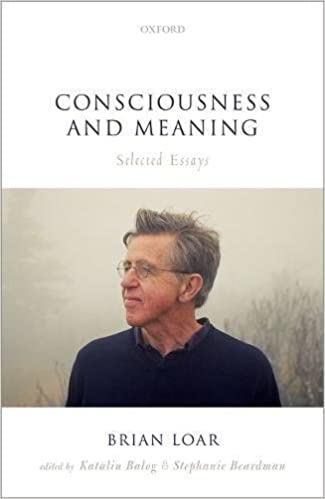 amazon com consciousness and meaning selected essays  consciousness and meaning selected essays 1st edition