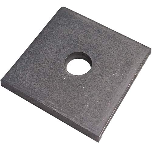M10 Square Washers (40x40x5mm) - A4 Stainless Unistrut Type - Pack of 10 Direct Channel