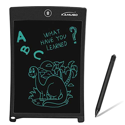 (KAMUGO LCD Writing Tablet 8.5 Inch Electronic Writing Drawing Board Pad Handwriting Paper Drawing Tablet for Kids Adults)